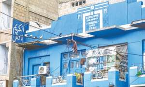 Owners preserve identity of pre-partition building