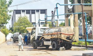 DHA residents in Karachi paying hefty water tax despite getting no supply via lines