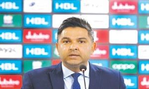 Wasim Khan steps down as PCB chief executive