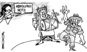 Cartoon: 1 October, 2021
