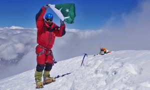 Sirbaz Khan becomes first Pakistani to scale 9 of world's 14 highest peaks