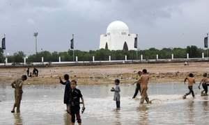 Sigh of relief as cyclone Shaheen roars past Karachi