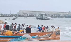 Under cyclone Shaheen, heavy rain batters Makran coast