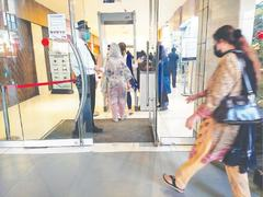 Partial compliance of Covid-19 SOPs at major malls, hotels