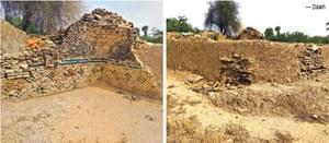 Baloch chieftain's tomb in a rundown condition
