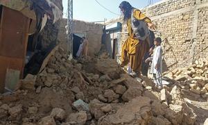 بلوچستان  کے مختلف علاقوں میں 5.9 شدت کا زلزلہ، 20 افراد جاں بحق