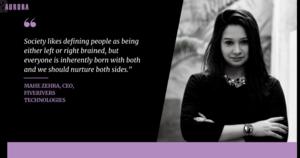 Interview: Mahe Zehra, CEO, FiveRivers Technologies