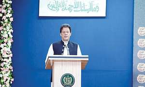 Imran seeks nation's help for fighting corruption, 'sex crimes'