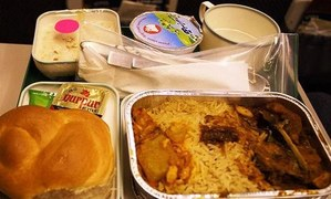 CAA allows serving of meals on domestic flights
