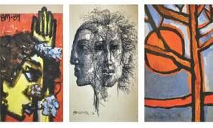 Master artist Bashir Mirza's paintings on display