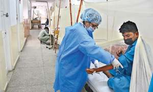No let-up in dengue patients despite fall in temperature in twin cities