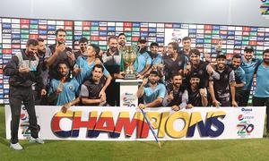 سینٹرل پنجاب کو شکست، خیبر پختونخوا نیشنل ٹی20 کپ میں اعزاز کے دفاع میں کامیاب