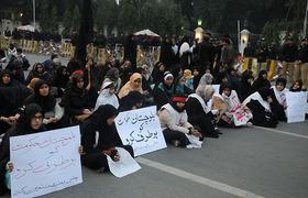 Sit-in held in protest against children's killing in Quetta