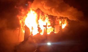 تائیوان میں دہائیوں پرانی خستہ حال عمارت میں آتشزدگی، 46 افراد ہلاک