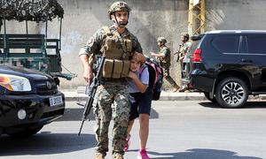 Six killed as clashes rock Beirut