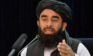 داعش کے تمام اراکین افغان ہیں، تنظیم میں کوئی غیر ملکی نہیں، ذبیح اللہ مجاہد