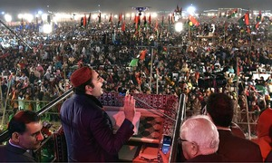 Stage set for PPP power show in Karachi today