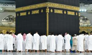 In pictures: Worshippers pray shoulder-to-shoulder in Makkah's Grand Mosque as virus curbs lifted
