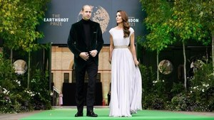 Celebrities join Prince William in mission to 'repair Earth'