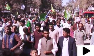 جشن میلاد النبی ﷺ کی مناسبت سے مختلف شہروں میں نکالی جانے والی ریلیاں