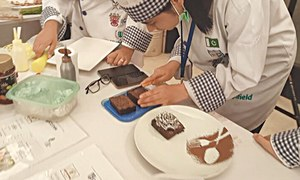 Young culinary artists showcase products to mark Chefs Day