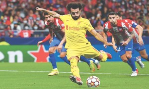 Messi, Salah score two each in CL goal rush