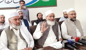 Siraj opposes direct taxes in Malakand