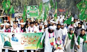 Eid Miladun Nabi celebrated with religious fervour in KP