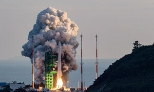 South Korea launches first local space rocket, but fails to put payload in orbit