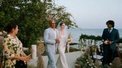 Vin Diesel walks late Fast & Furious co-star Paul Walker's daughter down the aisle at her wedding