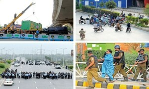 ٹی ایل پی کا لانگ مارچ روکنے کیلئے اسلام آباد میں نیم فوجی دستے تعینات