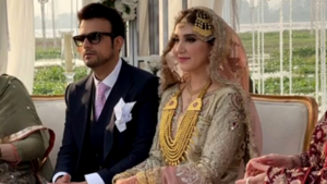 A peek into Usman Mukhtar's elegant daytime wedding