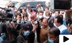 رہنما پیپلزپارٹی خورشید شاہ سکھر جیل سے رہا