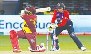 England signal title ambition as WI crumble for 55