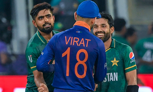 ٹی20 ورلڈکپ: پاکستان نے بھارت کے خلاف نئے ریکارڈز بنا دیے