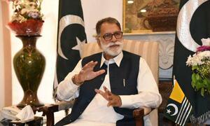 AJK PM's claim leaves social media users stunned