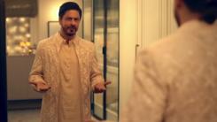 Shah Rukh Khan wears jacket by Pakistani designer Faraz Manan in latest Diwali ad