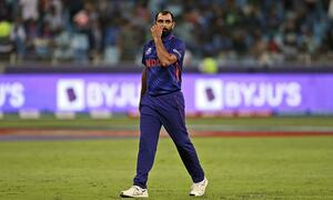 Indian bowler Mohammed Shami 'horribly abused' online after Pakistan humiliation