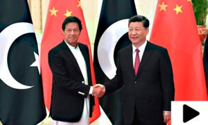 وزیراعظم عمران خان کا چینی صدر سے ٹیلی فونک رابطہ