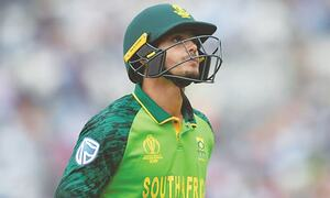 South Africa's De Kock apologises, says will take a knee in future