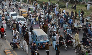Undeterred, thousands of TLP workers enter Gujranwala as protest continues for 2nd week