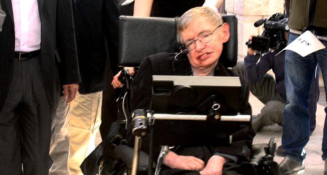سٹیفن ہاکنگ -- فوٹو -- وکی میڈیا کامنز