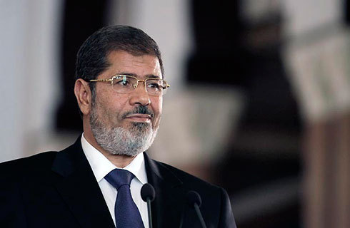 The man the Israeli-Palestinian crisis needs most? Egypt's Morsi
