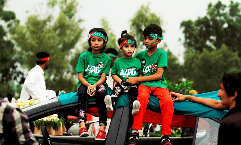 Dangerous game: PTI to march into Red Zone with women, children