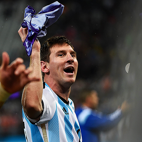 Messi missing signature World Cup moment