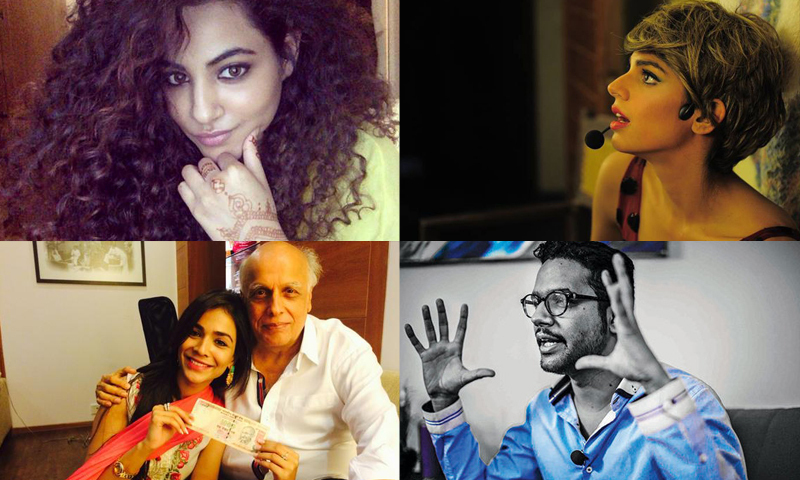 Celebrities on Eid: Selfie, henna and prayers for Gaza