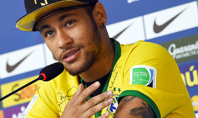 Neymar will be cheering for Messi