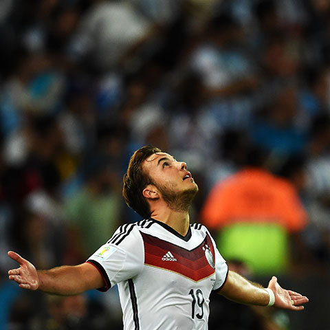 The liberator: Goetze will never be Germany's forgotten man now